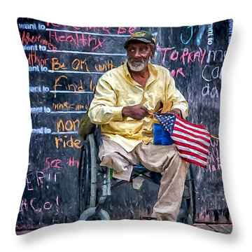 To Those Who Served Throw Pillow