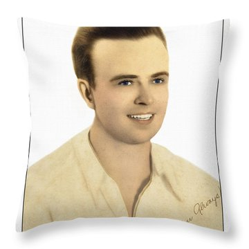 To You With Love Throw Pillow by Susan Leggett
