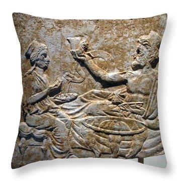 Toast Throw Pillow by Andonis Katanos