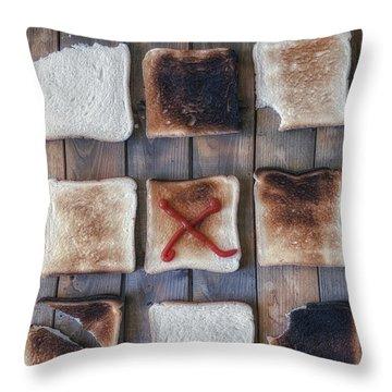 Toast Throw Pillow by Joana Kruse