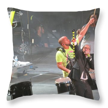 Toby Mac Headline Winterjam Throw Pillow