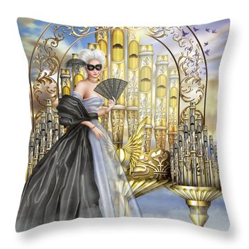 Tocatta Throw Pillow by Ciro Marchetti