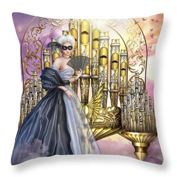 Tocatta Variant I Throw Pillow by Ciro Marchetti