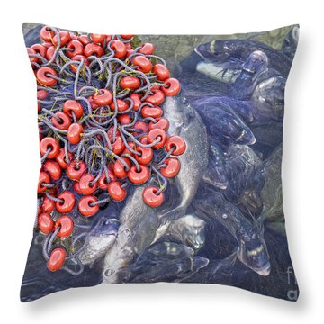 Today's Harvest Throw Pillow by Stelios Kleanthous
