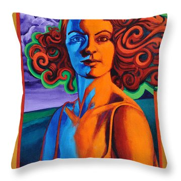 Today's Lesson Throw Pillow by Greg Skrtic