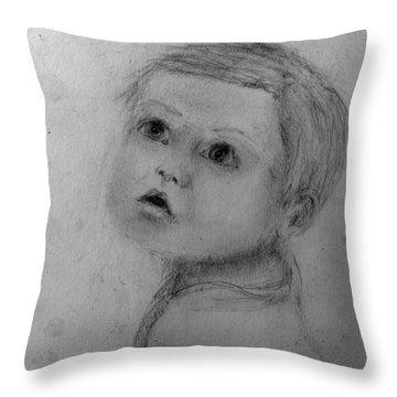 Toddler Boy Throw Pillow
