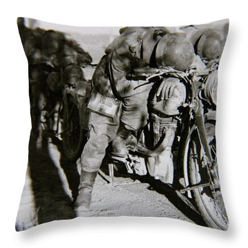 Todmude / Dead Tired Throw Pillow