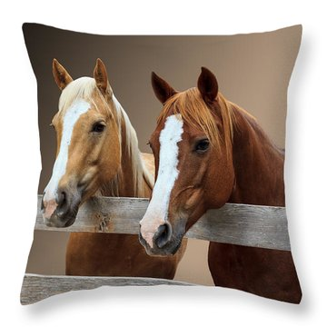 Together 2 Throw Pillow by Doug Long