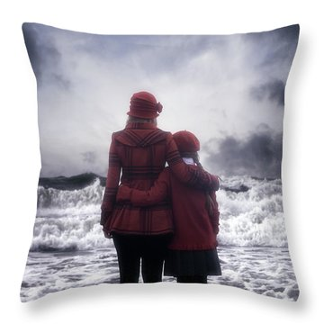 Together We Are Strong Throw Pillow by Joana Kruse