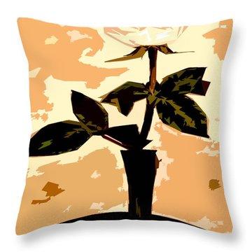 Token Of Love Throw Pillow by Patrick J Murphy