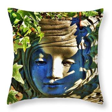 Told In A Garden Throw Pillow