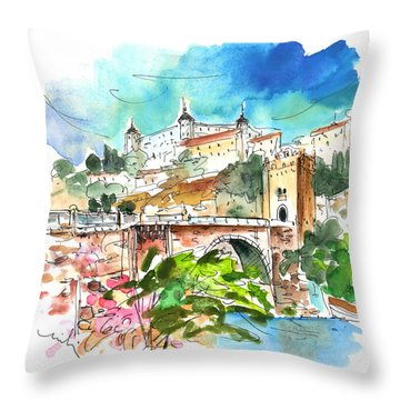 Toledo 01 Throw Pillow