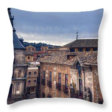 Toledo Rooftops II Throw Pillow