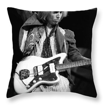 Tom Petty And The Heartbreakers Throw Pillow