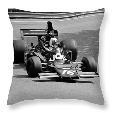 Tom Pryce Throw Pillow