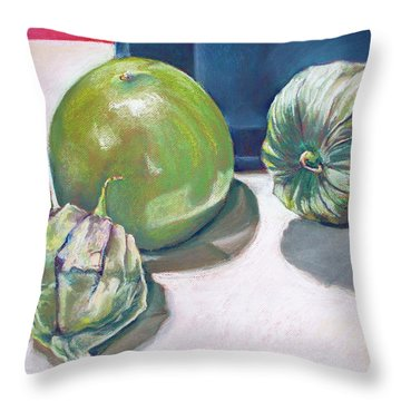 Tomatillo Ole Throw Pillow