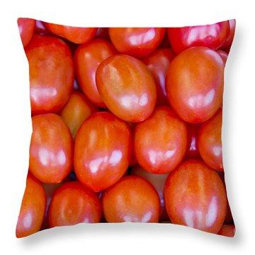 Tomatoes 1 Throw Pillow