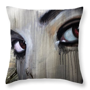 Tomb Raider Reborn Throw Pillow by James Kruse
