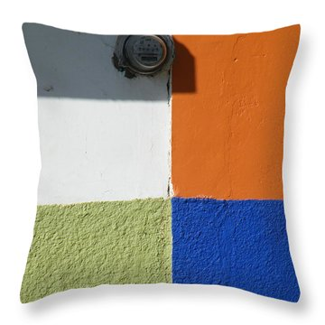 Throw Pillow featuring the photograph Tonal Junction by Brian Boyle