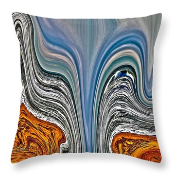 Tone Poem  Throw Pillow