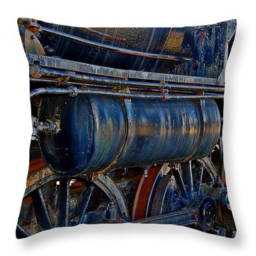 Tonnage Throw Pillow by Skip Willits