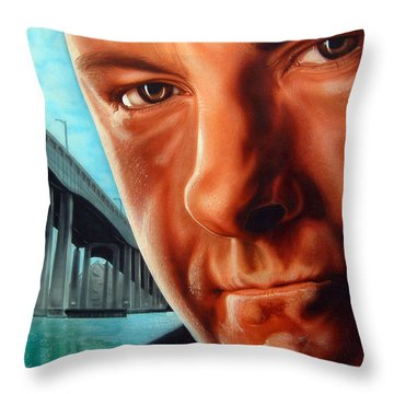 Tony Boss Of Bosses Throw Pillow