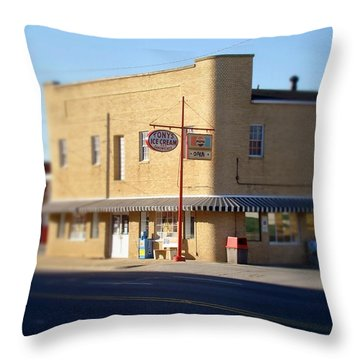 Tony's Ice Cream Throw Pillow