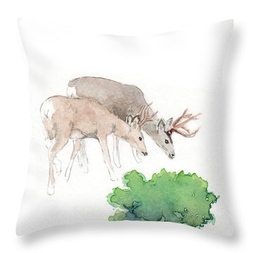 Too Dear Throw Pillow