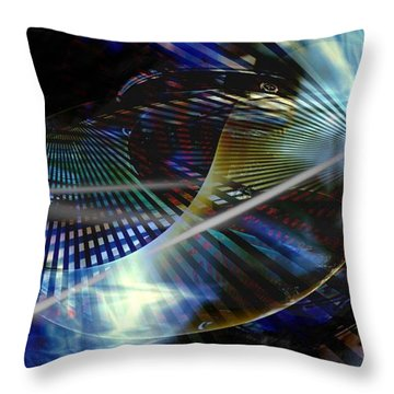 Too Many Questions Throw Pillow