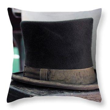 Top Hat Throw Pillow