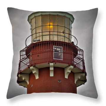 Top Of Barney 2007 - Hawk's Perch Throw Pillow