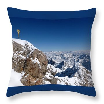 Top Of Germany  Throw Pillow by The Creative Minds Art and Photography