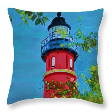 Top Of The House Throw Pillow