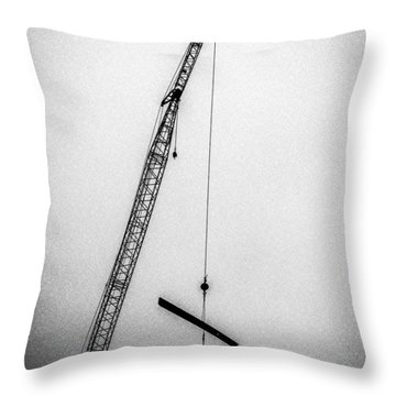 Top Of The Skyscraper Throw Pillow by Bob Orsillo