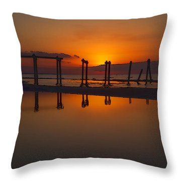 Toppled Throw Pillow