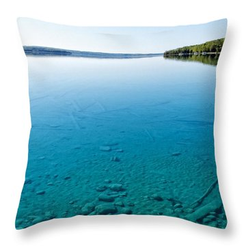 Torch Lake Throw Pillow