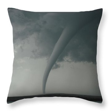 Tornado Country Throw Pillow