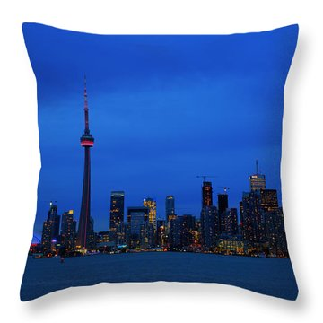 Toronto Blues... Throw Pillow