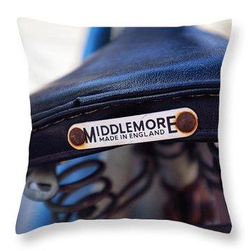 Toronto Middlemore Bike Seat Throw Pillow by Tanya Harrison