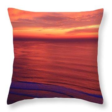 Throw Pillow featuring the photograph Torrey Pines Twilight by John F Tsumas