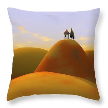 Toscana 2 Throw Pillow by Cynthia Decker