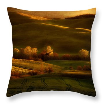 Toskany Impression Throw Pillow