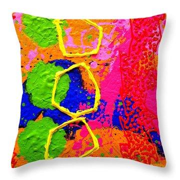 Totem  IIi Throw Pillow by John  Nolan