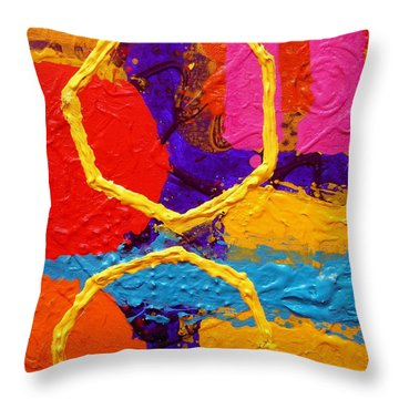 Totem Iv Throw Pillow by John  Nolan