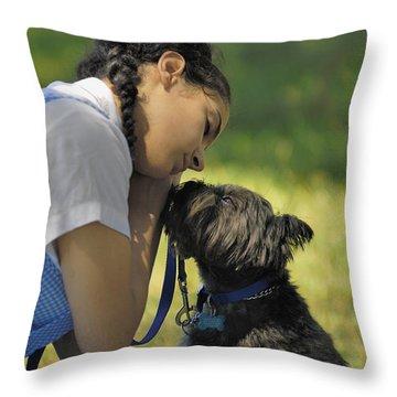 Toto This Isn't Kansas Anymore Throw Pillow