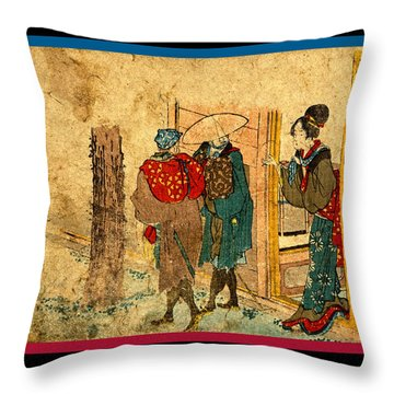 Totsuka  Throw Pillow