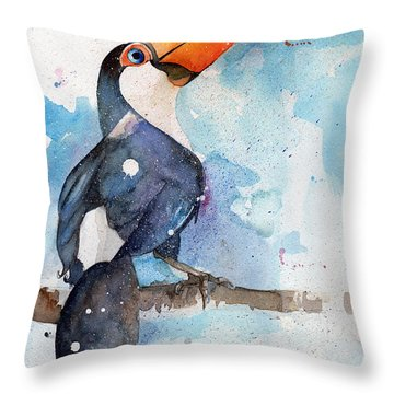 Toucan Sam Throw Pillow
