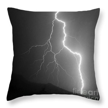 Throw Pillow featuring the photograph Touch And Go by J L Woody Wooden