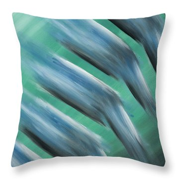 Touch Of Cool Throw Pillow by Brent Buss