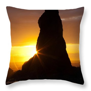 Touch Of Hope Throw Pillow by Mark Kiver